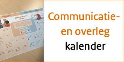 Communicatie- en overlegkalender